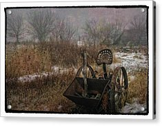 Season's Over Acrylic Print by Kimberleigh Ladd