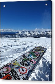 Seat At The Top Of The World Acrylic Print