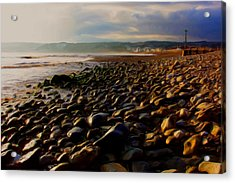Acrylic Print featuring the digital art Seaton by Ron Harpham
