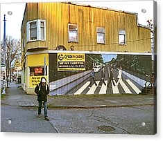 Seattle 2014. Acrylic Print by Frank Winters