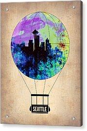 Seattle Air Balloon Acrylic Print