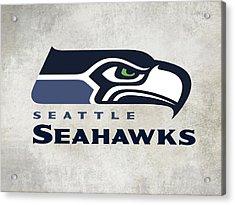 Seattle Seahawks Fan Panel Acrylic Print