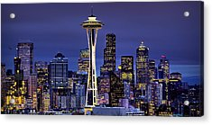 Seattle Skies Acrylic Print