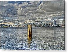 Seattle Skyline And Cityscape Acrylic Print