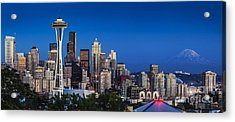 Seattle Skyline Panoramic Acrylic Print