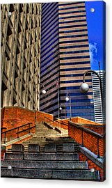 Seattle Skyscrapers IIi Acrylic Print by David Patterson