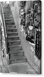 Seattle Stairs Acrylic Print