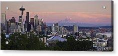 Seattle Sunset - Kerry Park Acrylic Print