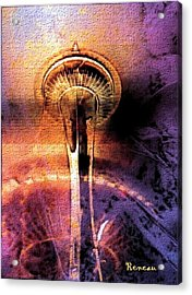 Seattle Wa Space Needle Acrylic Print