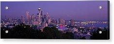 Seattle Wa Usa Acrylic Print by Panoramic Images