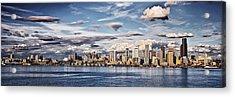 Seattle Washington - Skyline 4 Acrylic Print