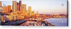 Seattle Washington Usa Acrylic Print by Panoramic Images