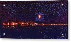 Seattle Waterfront, No. 1 Acrylic Print by James Kramer