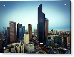 Seattle Acrylic Print by Wladimir Bulgar