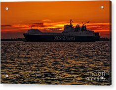 Seaways Acrylic Print by Svetlana Sewell