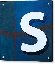 Seaworthy S Acrylic Print