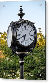 Secaucus Clock Marras Drugs Acrylic Print