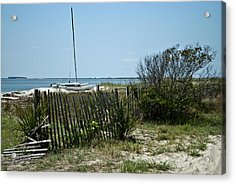 Secluded Beach Wat 157 Acrylic Print by G L Sarti