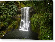 Secluded Falls Acrylic Print