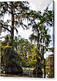 Secluded Retreat Acrylic Print by Lana Trussell