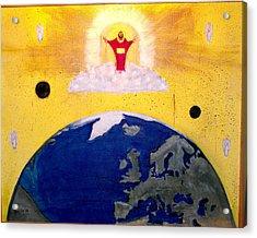Second Coming Of Jesus Acrylic Print