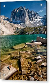 Second Lake And Temple Crag Acrylic Print