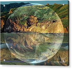 Second Nature Acrylic Print by PainterArtist FIN