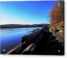 Second Shoreline Acrylic Print by Will Boutin Photos