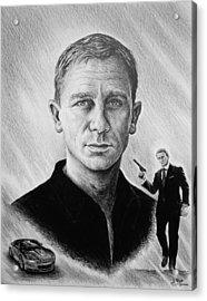 Secret Agent Acrylic Print by Andrew Read