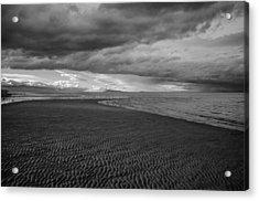 Low Tide Acrylic Print by Roxy Hurtubise