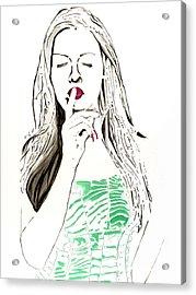 Secret Acrylic Print