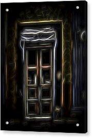 Secret Doorway Acrylic Print
