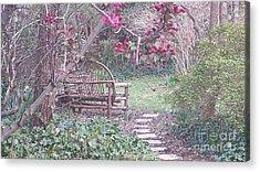 Secret Garden Acrylic Print by Charlotte Gray
