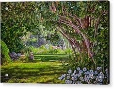 Secret Garden Acrylic Print by Omaste Witkowski