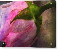 Secret Passion Acrylic Print by Shirley Sirois