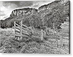 Secret Valley Acrylic Print by David Benson