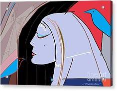 Secret Acrylic Print by Vilas Malankar