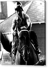 Secretariat Vintage Horse Racing #07 Acrylic Print