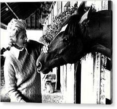 Secretariat Vintage Horse Racing #20 Acrylic Print