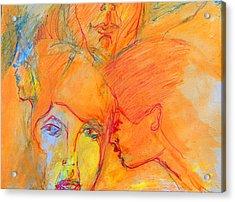 Secrets Acrylic Print by Judith Redman