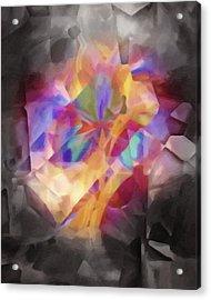 Secretscape Artisan Acrylic Print by Lutz Baar