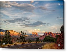 Sedona Arizona Allure Of The Red Rocks - American Desert Southwest Acrylic Print