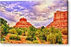 Sedona Arizona Bell Rock Vortex Acrylic Print