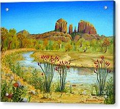 Sedona Arizona Acrylic Print by Jerome Stumphauzer