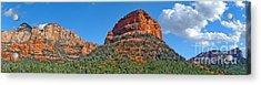 Sedona Arizona Panorama Acrylic Print by Gregory Dyer