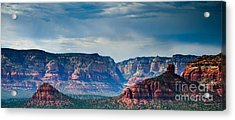 Sedona Arizona Panorama Acrylic Print by Terry Garvin