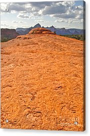 Sedona Arizona Submarine Rock Acrylic Print by Gregory Dyer