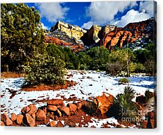 Sedona Arizona - Wilderness Acrylic Print by Bob and Nadine Johnston