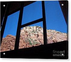 Acrylic Print featuring the photograph Sedona Chapel 4 by Tom Doud
