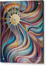 Sedona Charm Acrylic Print by Dee Davis